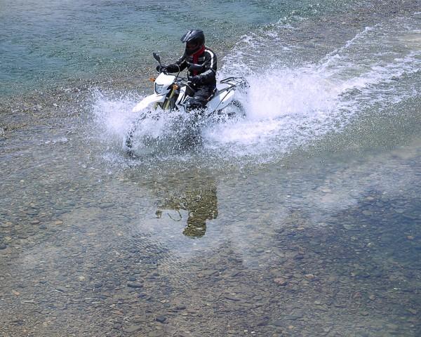 MOTOLAO river crossing motorbike