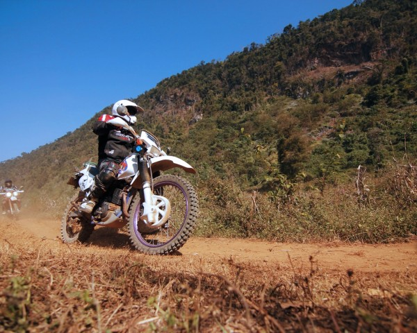 Off-road riding pleasure